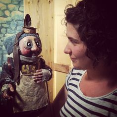 """From the shooting of the upcoming NFB and Old Trout Puppet Workshop movie, """"The First Christmas Present."""""""