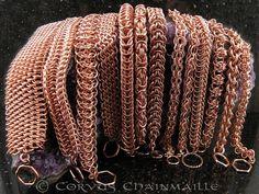 Медь и кольчужное плетение: 10 причин идеальной совместимости - Ярмарка Мастеров - ручная работа, handmade