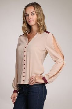Lovely Always Top in Taupe