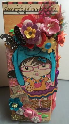 ♥Walkelmol♥ La La Land pencil box repurposed  from pampered chef sauce box