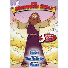 Shop The Beginner's Bible: The Story of Easter/The Story of the Nativity/The Story of Moses [DVD] at Best Buy. Find low everyday prices and buy online for delivery or in-store pick-up. Christian Cartoons, Christian Movies, Cross Coloring Page, Coloring Book Pages, Jesus Cartoon, Cartoon Kids, Easter Movies For Kids, Animated Bible, Easter Cartoons