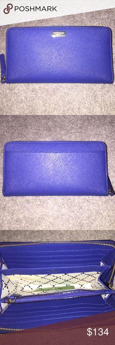 Kate Spade newbury lane hyacinth wallet NWT Kate Spade newbury lane hyacinth wallet NWT. Retail $158+tax. kate spade Bags Wallets