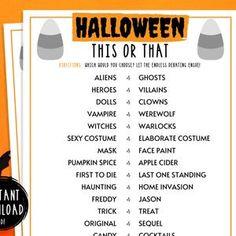 Halloween Games Adults, Spooky Games, Halloween Party Games, Halloween Kids, Halloween Printable, Halloween Decorations, Scavenger Hunt Games, Halloween Scavenger Hunt, Adult Party Games