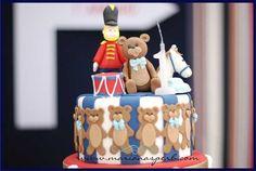 London Calling Boy's 1st Birthday Cake Detail - www.spaceshipsandlaserbeams.com