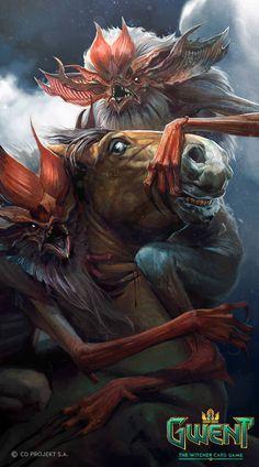 Gwent Cards Artwork - Monsters Faction - Album on Imgur