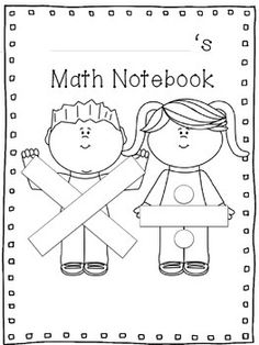 Free Reading, Writing, Science & Math Notebook Covers