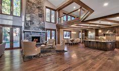 Interior of luxury home