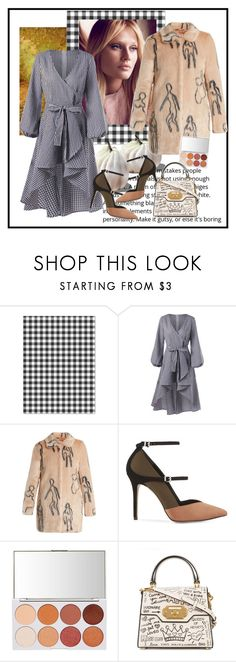 """""""Plaid items - Rosegal"""" by carola-corana ❤ liked on Polyvore featuring Shrimps, Reiss and Dolce&Gabbana"""