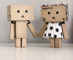 danbo love by Christina Kristiansen - Artistic Objects Toys ( love, danbo, couple, coupl, )