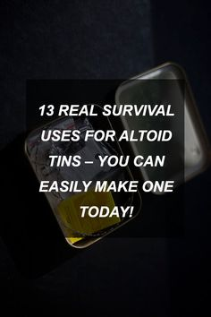 13 REAL Survival Uses for Altoid Tins  You Can Easily Make One Today! | Survival Shelf |...