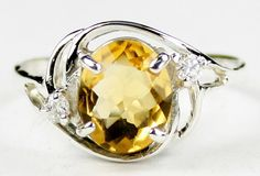 SR021, 10x8mm Citrine, 925 Sterling Silver Ring * Stone Type  Citrine * Approximate Stone Size - 10x8mm  * Approximate Stone Weight - 3.3 cts  * Jewelry Metal - Solid 925 Sterling Silver * Approximate Metal Weight - 3.5 grams  * Ring Size - Size selectable during checkout * Our Warranty - A full year on workmanship  * Our Guarantee - Totally unconditional 30 day guarantee