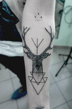 Deer Forearm Tattoo