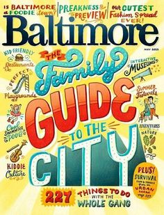 #Publication: Baltimore. Artist=Unknown. Fun and colorful.