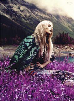 purple wildflowers | Festival Glam