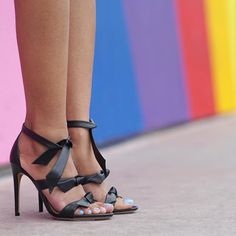 2c976c3b5c2 These lovely open toe heels feature a cracked metallic design