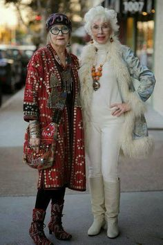 I like the coat on left.
