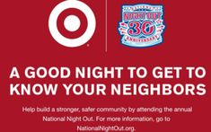 National night out safer communities law enforcement