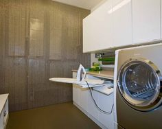 Laundry Room Ironing Boards Design, Pictures, Remodel, Decor and Ideas