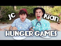 Hunger Games | Jc Caylen vs. Kian Lawley  Funniest video ever!!!!!!!!!!!!!!!