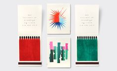 Brand identity and illustrated matchbooks by New York design studio Triboro for Brooklyn cafe and bar Sauvage