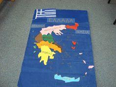 Αντίο νηπιαγωγείο..: Παραδοσιακές Φορεσιές Flag, Country, Logos, Rural Area, Flags, Logo, Country Music, Legos