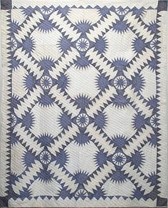 New York Beauty vintage quilt