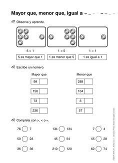 Resultado de imagen para ejercicios matematicas segundo primaria