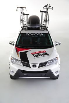 """Featured Tuner Car: 2013 Customized Toyota """"Life Time Fitness"""" built for triathletes. Tuner Cars, Fitness Design, Six Pack Abs, Rav4, Gymnastics, Toyota, Adventure, Vehicles, Life"""
