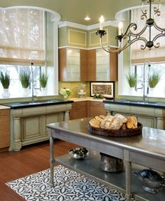 Decorating: Rooms with Green Palettes | Traditional Home