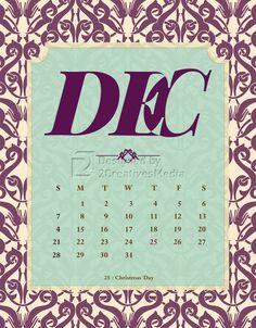Our December 2014 Calendar