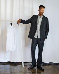 The Essential Suit The Essential, Mens Essentials, Smart Design, Jil Sander, Dress Codes, Acne Studios, Mens Suits, Silhouettes, Work Wear