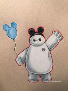 baymax balloons disneyland - Google Search