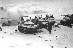 22 December 1942  Captured Marder tank hunters.  Although 4th Panzer Army seized a small bridgehead on the Myshkova River, it can go no further: by now 2nd Guards Army is fully deployed in front of the Germans, and there will be need of more than a few such mobile guns to overcome its 400 new tanks...