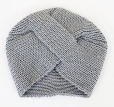 Grab the award for trend setter with this vintage inspired gray knit turban. $38 www.mooreaseal.com