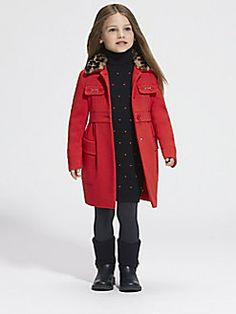 Gucci - Toddler's & Little Girl's Shearling Coat