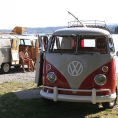 No matter where you go, your Volkswagen classic Microbus will get you there.