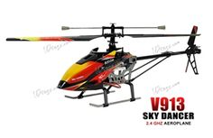 """WLToys V913 Large 4 Channel 27"""" RC Helicopter 2.4GHz  Original Price $79.99 ON SALE $69.99"""