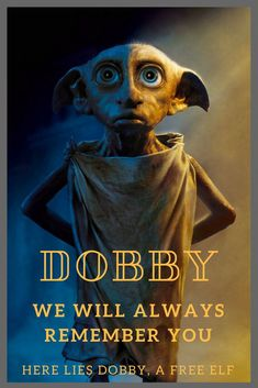 Making the ultimate sacrifice for Harry, Dobby will always be remembered