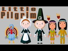 "Little Pilgrim Song by The Learning Station Young children enjoy familiar ""to the tune of"" melodies because they are simple, FUN and easy to learn. Autumn songs, rhymes and fingerplays are a great way to musically enhance your entire curriculum and can be Thanksgiving Videos, Thanksgiving Preschool, Fall Preschool, Thanksgiving Songs For Preschoolers, Thanksgiving Story For Kids, Pilgrims Thanksgiving, Thanksgiving Cartoon, November Thanksgiving, Pilgrims And Indians"