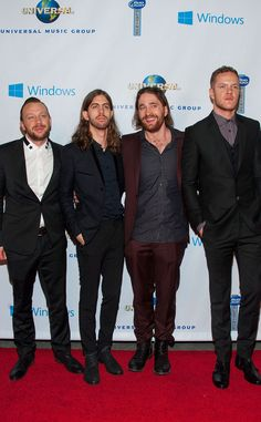 5 Things to Know About Grammy-Winning Rock Band Imagine Dragons | E! Online Mobile