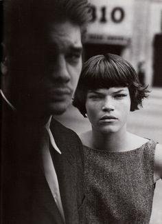 Zoe Gaze & Seijo by Peter Lindbergh for VOGUE ITALIA, 1998