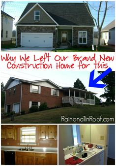 What kind of house do you live in? We tried the new construction route - it wasn't for us! Instead a 1970s foreclosure turned out to be our dream house.