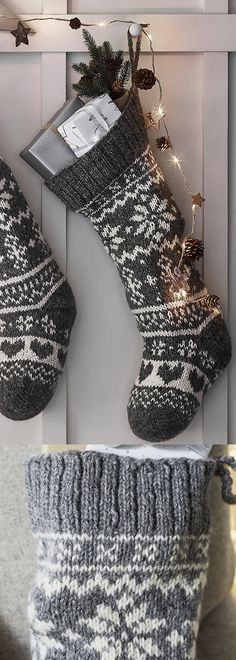 The White Company - Fair Isle Christmas Stocking. Cosy and oh-so Christmasy, we love this gorgeous knitted stocking. What makes it so special is that it has been hand-knitted in Nepal and makes the perfect stocking for anyone in your family. The tight-knit structure gives this stocking flexibility so that even the trickiest-shaped present will neatly squeeze inside. #christmas #christmaspresents #presents #giftsforher #hygge #cosy #stockings #affiliatelink #christmasgifts