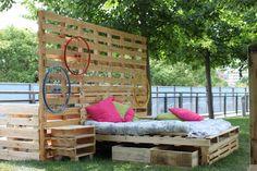 #FestivalDelVerde #ArredoPallet #Arredo #Pallet #Riciclo #GardenDesign