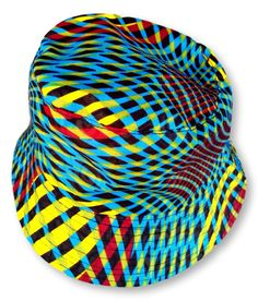 Multicolour Weave Pattern Reversible Bucket Hat Size : 35 cm x 21 cm Weight : 50 g Washable : Yes Fabric : Cotton Hand Made Hat Sizes, Bucket Hat, Weave, Hats, Fabric, Pattern, Cotton, Handmade, Fashion