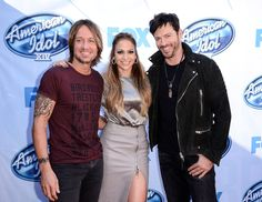 Keith Urban Photos - (L-R) Musicians Keith Urban, Jennifer Lopez , attends Fox's 'American Idol XIV' Red Carpet Event at CBS Televison City on December 2014 in Los Angeles, California. American Idol 2015, American Idol Judges, Lopez Show, Gladiator Boots, Guitar Collection, Shaquille O'neal, Urban Looks, Red Carpet Event, Photo L