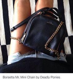 Mini Chain Mail Bag by Deadly Ponies Fashion Bags, Love Fashion, Fashion Backpack, Fashion Accessories, Womens Fashion, Mini Handbags, Purses And Handbags, Fashion Essentials, Fancy
