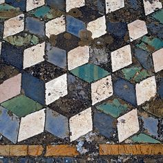 Mosaic floor - Pompeii