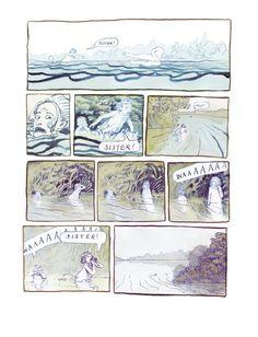 Alexis Deacon - The River, panel 3