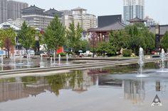 Xi' An city center.